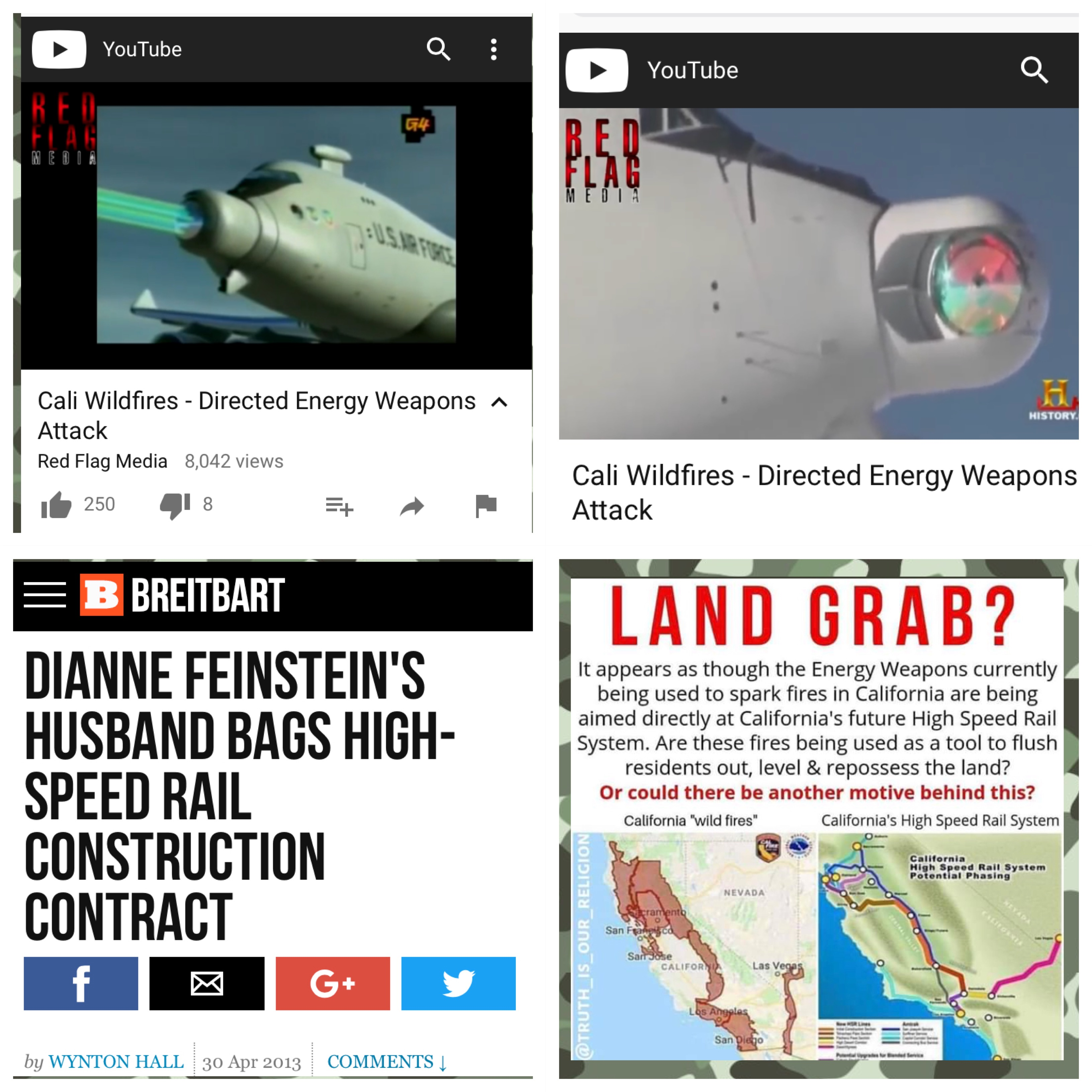 DIRECTED ENERGY WEAPONS ATTACK ON CALIFORNIA – Kristen Hinkson com